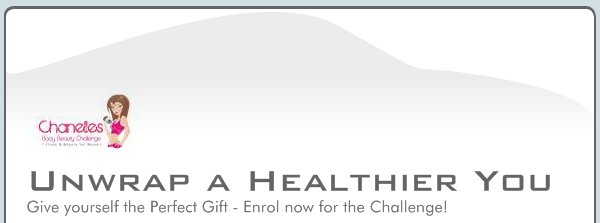 Unwrap a Healthier You  - Give yourself the Perfect Gift - Enrol now for the Challenge!