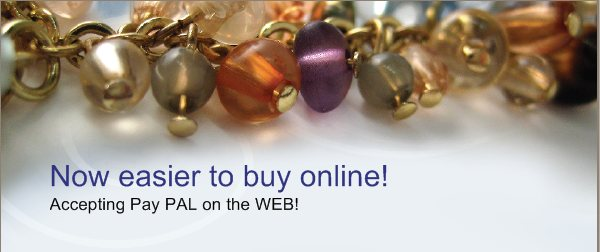 Now easier to buy online! - Accepting Pay PAL on the WEB!