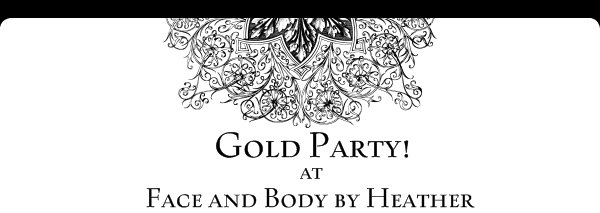 Gold Party! - Face and Body by Heather