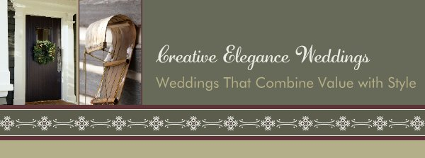Creative Elegance Weddings - Weddings That Combine Value with Style
