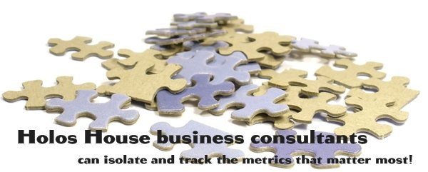 Holos House business consultants -  can isolate and track the metrics that matter most!