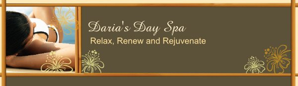 Daria's Day Spa -  Relax, Renew and Rejuvenate