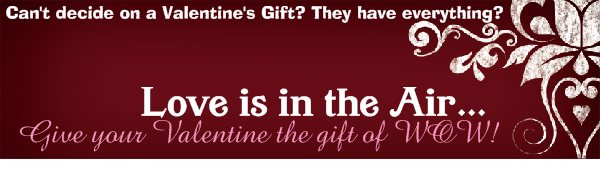 Love is in the Air... - Can't decide on a Valentine's Gift? They have everything?