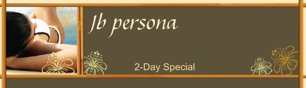 Jb persona - 2-Day Special