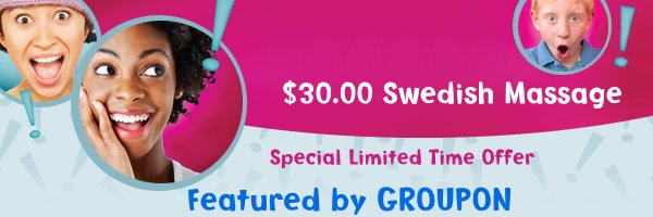 $30.00 Swedish Massage - Special Limited Time Offer
