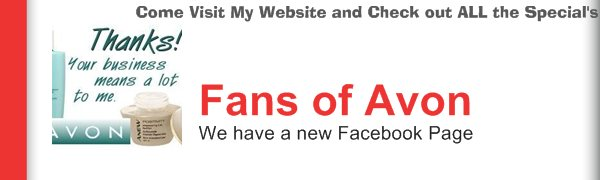 Fans of Avon - We have a new Facebook Page