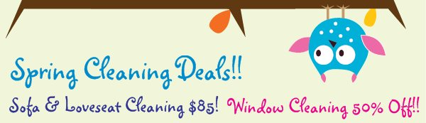 Spring Cleaning Deals!!