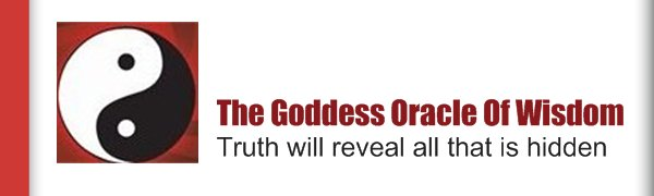 The Goddess Oracle Of Wisdom - Truth will reveal all that is hidden