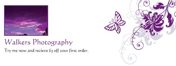 Walkers Photography - Try me now and recieve £5 off your first order.