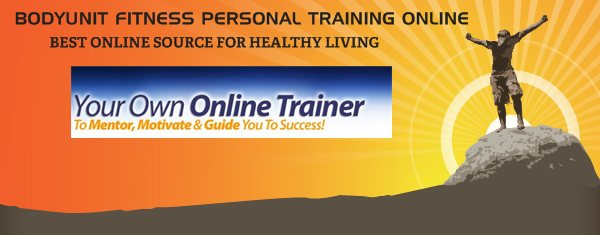 BODYUNIT FITNESS PERSONAL TRAINING ONLINE -  BEST ONLINE SOURCE FOR HEALTHY LIVING
