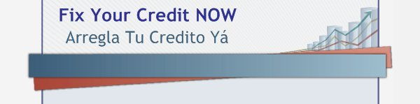 Fix Your Credit NOW