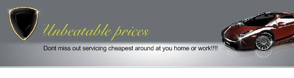 Unbeatable prices - Dont miss out servicing cheapest around at you home or work!!!!